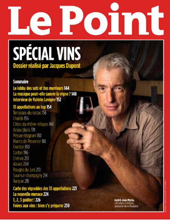 Le Point special wine issue from September 5, September 2013