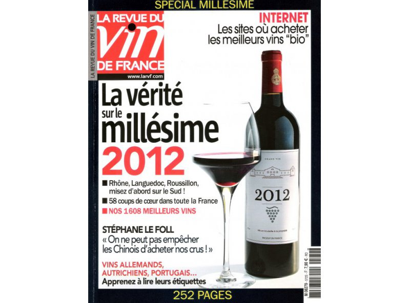 The French Wine Review (RVF) 2014: **
