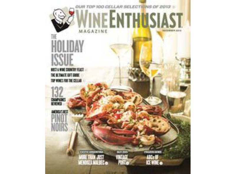 Wine Enthusiast - Les Cailloux among the 100 best wines of 2013