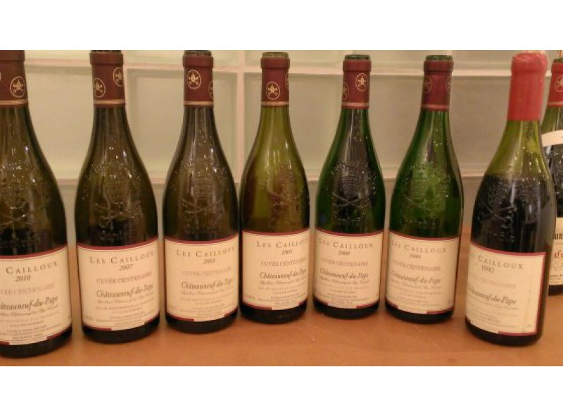 Vertical tasting of the Centenaire Cuvée in Denmark