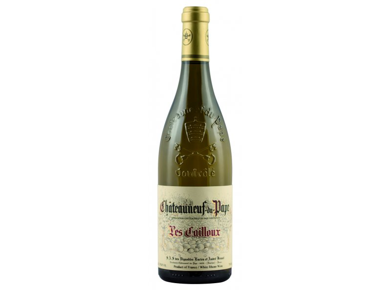 Les Cailloux Blanc 2013 - 91 points in Wine Advocate !